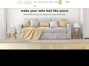 Attractive covers for Ektorp sofas.